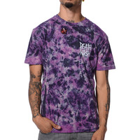 Deathwish Deathstack Purple Marble Tie Dye Tee Shirt at Zumiez : PDP