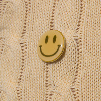 Happy Face Pin - Accessories