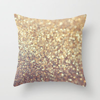 Cafe Latte Throw Pillow by Lisa Argyropoulos