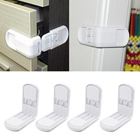 Hard Plastic Baby Child Kids Care Safety Protection Drawer Cabinet Door Right Angle Corner Lock Children