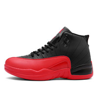 Super hot authentic basketball shoes classic retro jordan 12 shoes cheap brand men shoes high-top outdoor sneakers