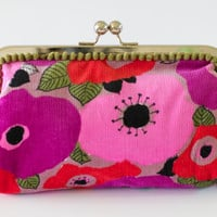 Signature Clutch, In the Garden of Corduroy