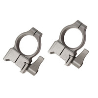 Z-2 Alloy QD Scope Rings - High (Silver)