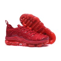 2018 Nike Air VaporMax Plus TN All Red Sport Running Shoes - Best Online Sale