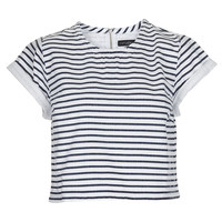 Petite Denim Stripe T-Shirt - New In This Week - New In - Topshop USA