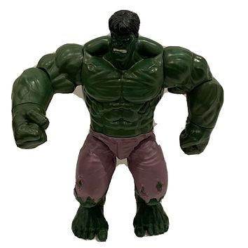 """AS IS Marvel Disney Store Large 15"""" INCREDIBLE HULK Action Figure NOT WORKING"""