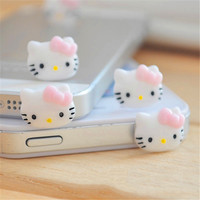 Anti Dust Plug Cap Cell Phone Earphone Plug Accessories For Iphone 6 5s Universal 3.5mm Jack Plug for samsung galaxy s6