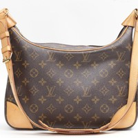 Louis Vuitton Monogram Boulogne Shoulder Bag Brown 1571
