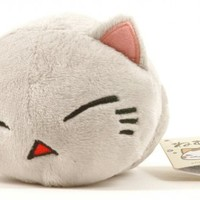 "Nemuneko Kitty Plush 4"" Huh? Confused Grey Cat"
