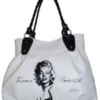 NEW LICENSED MARILYN MONROE BAG FOREVER BEAUTIFUL