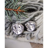 Moonstruck Earrings in Silver