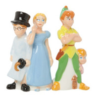 Disney Peter Pan Group Magnetic Salt & Pepper Shaker Set