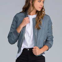 Puff Goes The Padded Bomber Jacket GoJane.com