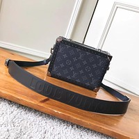 LV Louis Vuitton MONOGRAM CANVAS Soft Trunk INCLINED SHOULDER BAG