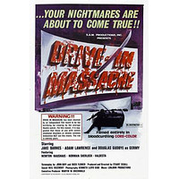 Drive In Massacre Movie Poster Puzzle Choose a size