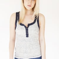 Free People Navy Time Out Tank OB473128