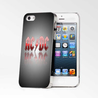 ACDC Background Black iPhone 4s iphone 5 iphone 5s iphone 6 case, Samsung s3 samsung s4 samsung s5 note 3 note 4 case, iPod 4 5 Case