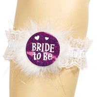 Bride To Be Garter