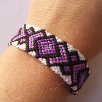 Knots for a Cause - Wide Macrame Knotted String Friendship Bracelet