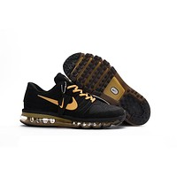 NIKE AIR MAX 2017 black Gold 40-47