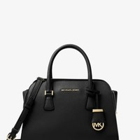 Harper Medium Leather Satchel | Michael Kors