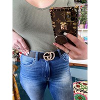 GG pearl belt -other colors
