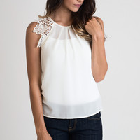 Picture Perfect Crochet Top