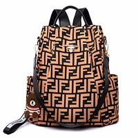 FENDI Hot Sale Women Men Travel Shoulder Bag Bookbag School Bag Backpack