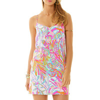 DUSK DRESS - RESORT WHITE SCUBA TO CUBA W from Lilly Pulitzer, Available at Ocean Palm