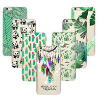 Green Silicone Case for Couqe iPhone 7 4 4S 5 5S SE 5C 6 6S Plus Cover for Samsung Galaxy Grand Prime J1 J5 A3 A5 2016 S5 S6 S7