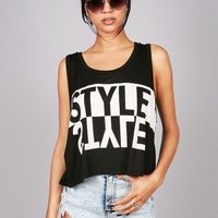 Style Reflector Muscle Tee | Casual Tops at Pink Ice