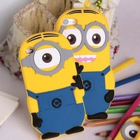 For ipod touch 4 &5 case minion cases covers for ipod touch 4g & 5G