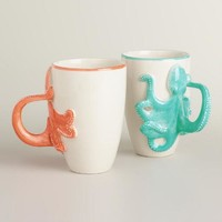 Octopus Mugs, Set of 2 - World Market