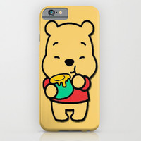 Honey Bear iPhone & iPod Case by Pink Berry Patterns