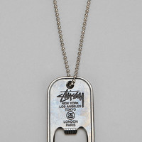 Stussy Bottle Opener Necklace