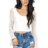 I Know What Love Is Crop Top $36