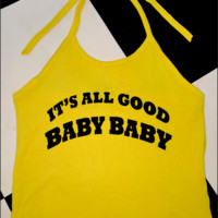 SWEET LORD O'MIGHTY! ITS ALL GOOD HALTER IN YELLOW