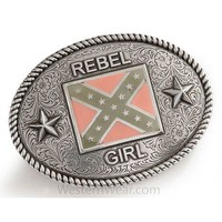 Women's Rebel Girl Buckle by Nocona - Belt Buckle - Westernwear.com