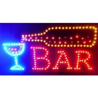 Animated Beer Pouring LED Sign