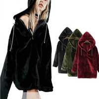New Velet Thicken Stylish Hoodies [9715134415]