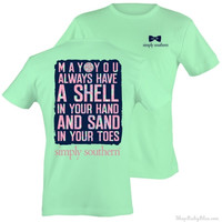 Simply Southern Mint Sand Short Sleeve T-Shirt