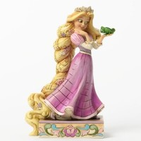 """Disney Traditions by Jim Shore Rapunzel and Pascal Figurine """"Loyalty and Love"""" (4037514)"""