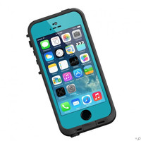 The Teal & Black LifeProof FRE Case for the iPhone 5s