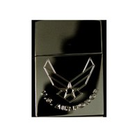 Lighter - US Air Force Zippo 150 Black Ice (engraved by Hip Flask Plus)