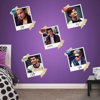 One Direction Snapshot Collection Wall Decals by Fathead