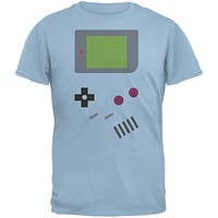 Handheld Gamer Light Blue Adult T-Shirt