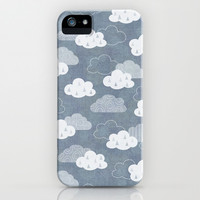 RAIN CLOUDS iPhone & iPod Case by Daisy Beatrice