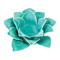 Blue Lotus Tea Light Candle Holder
