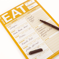Knock Knock - What to Eat Pad