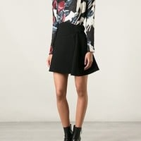 Carven Creased Floral Print Top - Dolci Trame - Farfetch.com